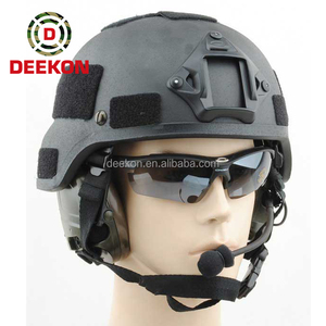 US Army NIJ Level kevlar military ballistic bullet proof helmet for government tender