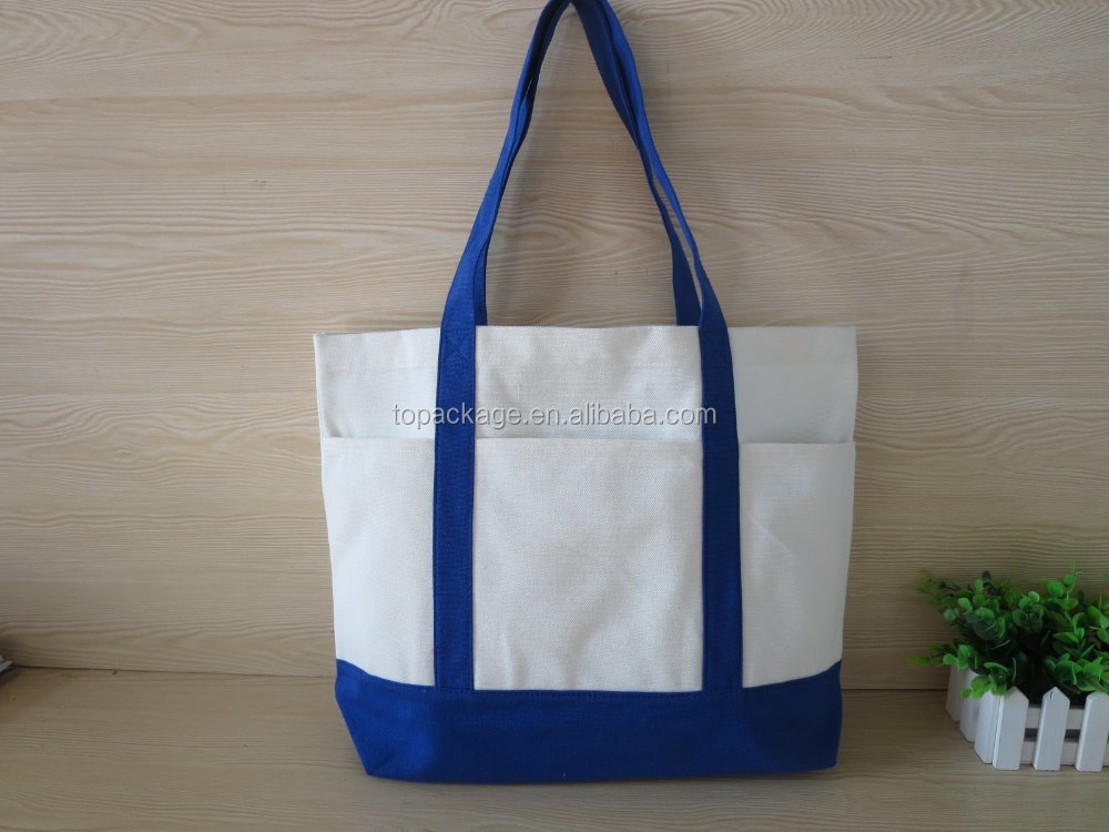 Eco-Friendly Recyclable Shopping Tote Canvas Organic Cotton Bag