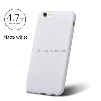 New arrival for iphone 6 case,matte color back cover case for iphone,mobile phone tpu simple case for iphone 6