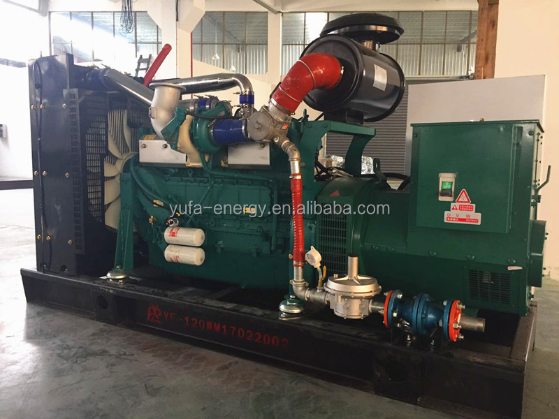 YUFA silent generators 100KW Electric Generator for sale with factory price