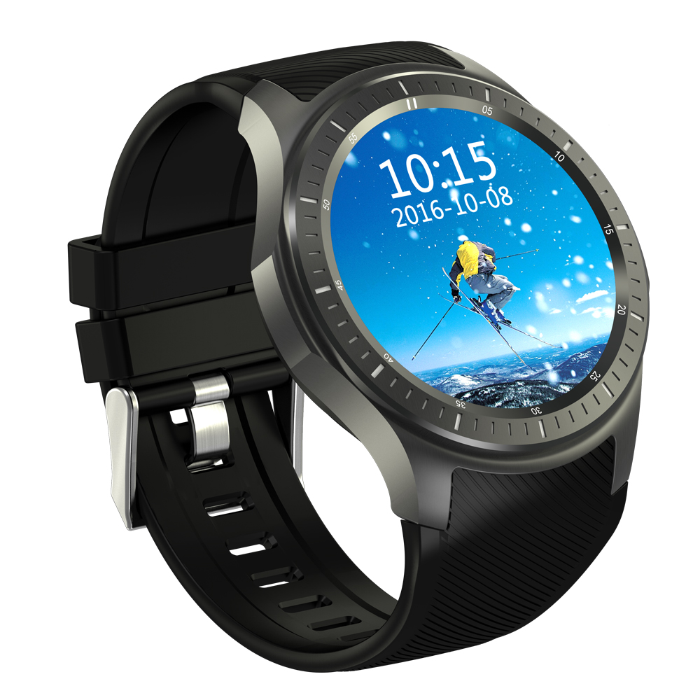 Android 5.1 Operating System Bluetooth 4.0 WIFI Smart 1.39 Inch Touch Screen Slim GPS Running Watch