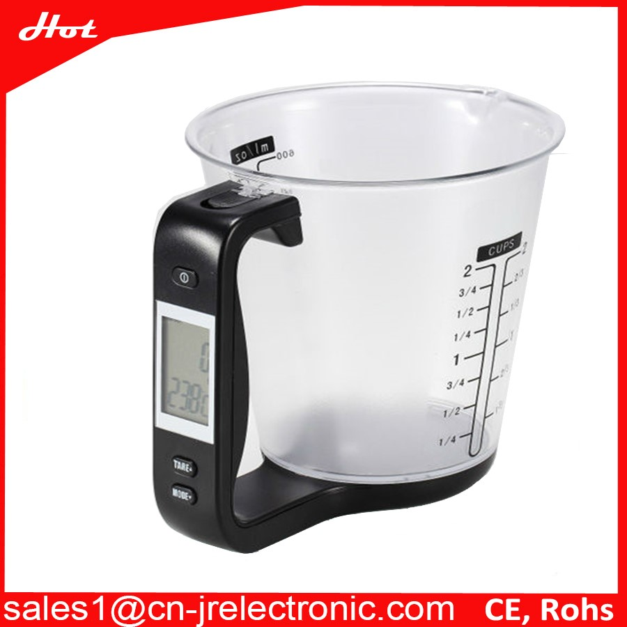 PC 600ml measuring cups with a scale