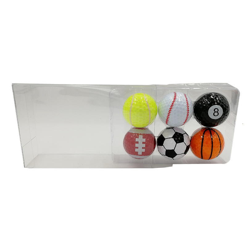 Golf balls promotional gifts set with sport elements