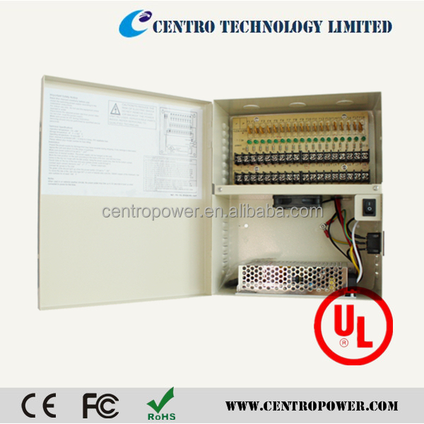 dc ups power distribution unit supply power for security system equipents