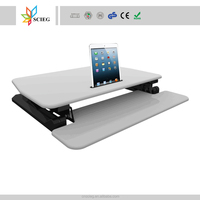 Height Adjustable desk computer stand up desk sit stand desk