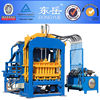 Dongyue medium model concrete block machine QT4-15 biomass brick making machine