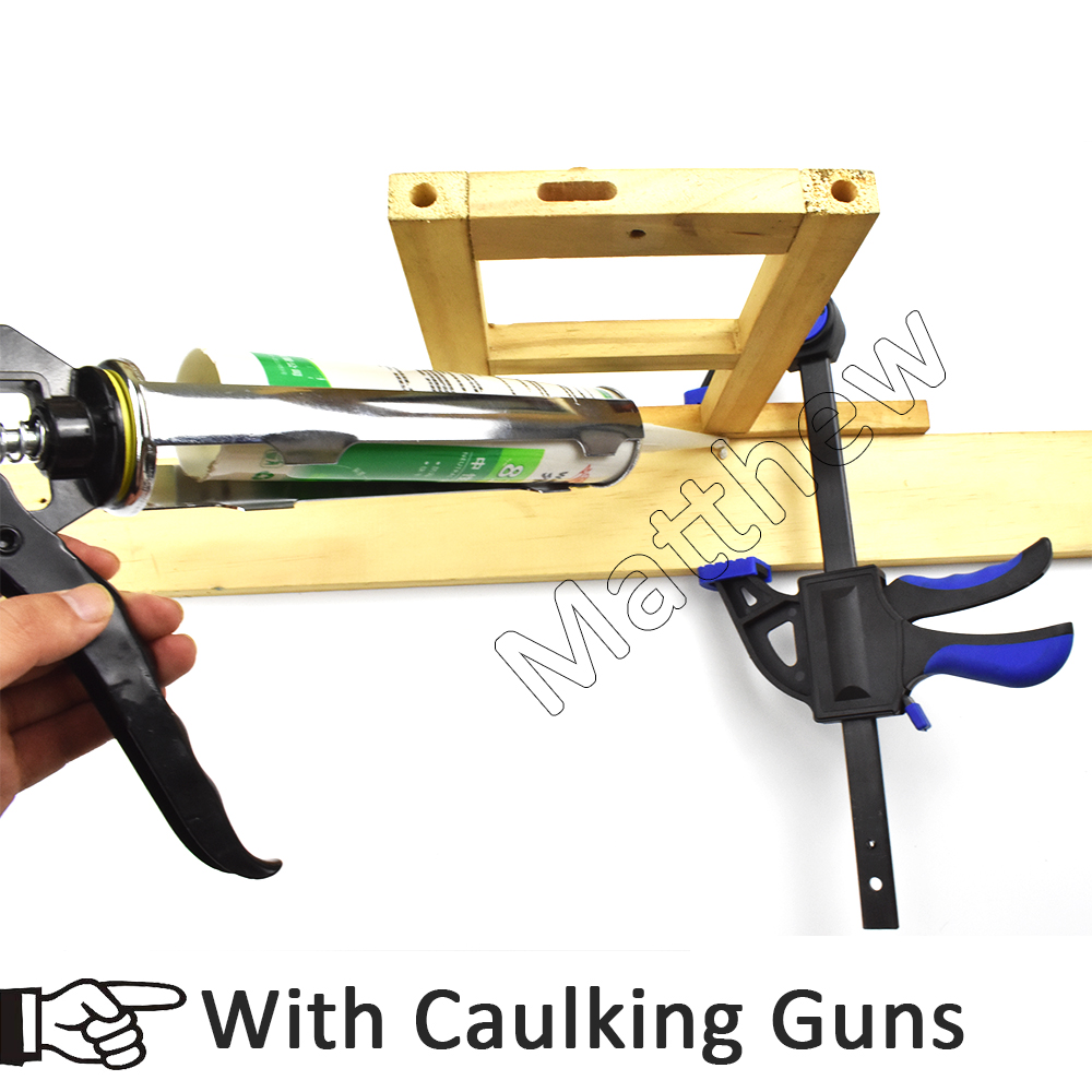 Soft Handle Nylon Woodworking Quick Release A3 Bar Clamps