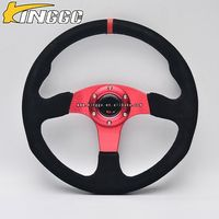 Direct Factory 350mm flat/deep dish racing car steering wheel for game