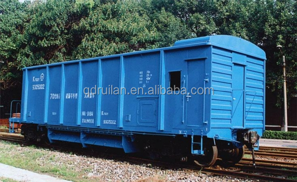 Railway Ballast Hopper wagon, KZ70 Hopper Wagon for Ballast, railroad freight wagon for sale