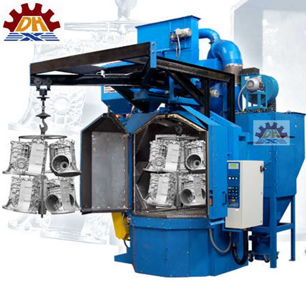 Customized gearbox housing lost foam casting grey iron casting shot blasting machine