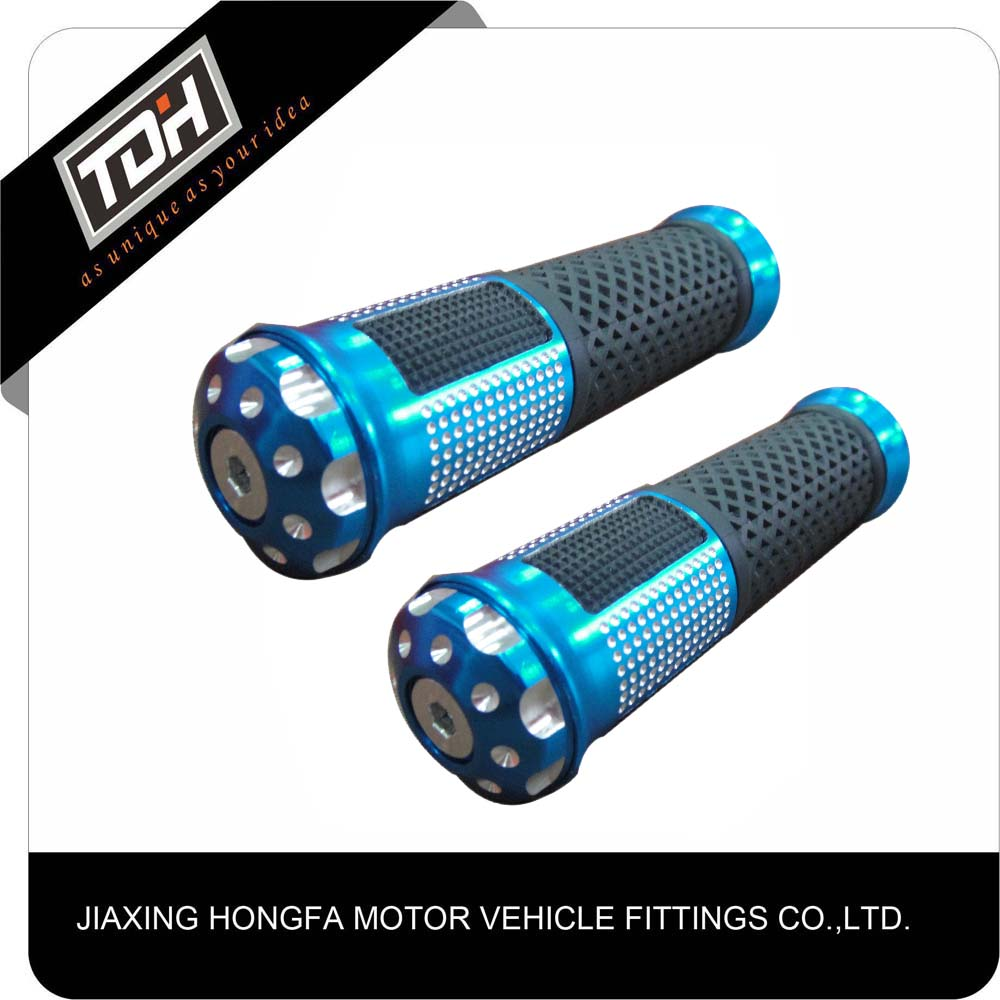 motorcycle parts direct hot sale scooter aluminum tdh grips for dirt bike