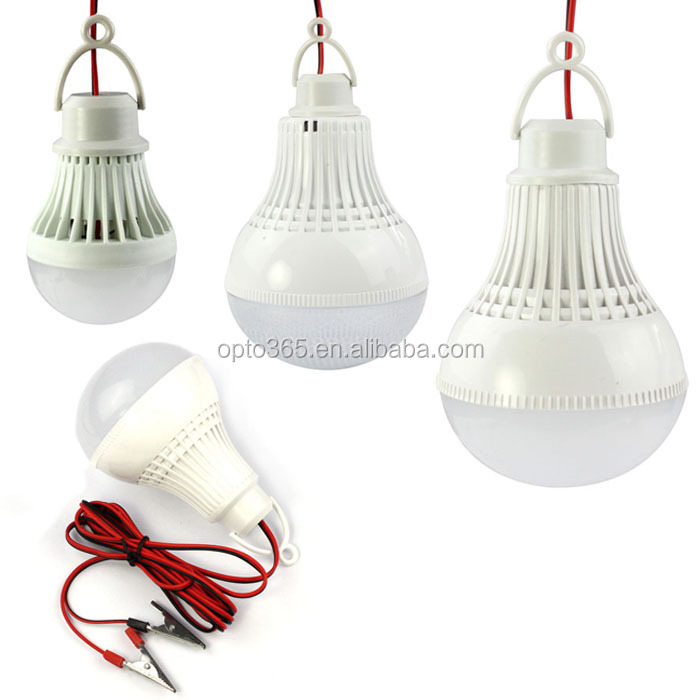 Low voltage 12V led bulb e27 b22 with wire chip 75lm/w 3w 5w 7w 9w 12w 15w 18w 20w