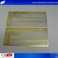 Manufacture Prices Metal Plated Train Auto Part Models