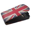 UK British Flag PU Leather Flip Case Cover for Samsung Galaxy Young S6310 with Free Screen Protector