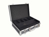 Dark Gray Custom Carrying Tool Case with Compartments