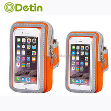 Hotsale armband bag for iphone sport case for running jogging fitness mobile phone arm band