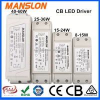 CB approved 12V 70W mini slim LED lighting driver power supply constant current 5800mA