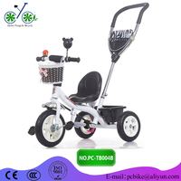 iron material Baby Tricycle/classic plastic push pedal car for baby/3 Wheel Toddler Scooter Ride On Car