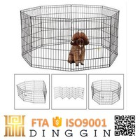 Outdoor dog playpen for many animals