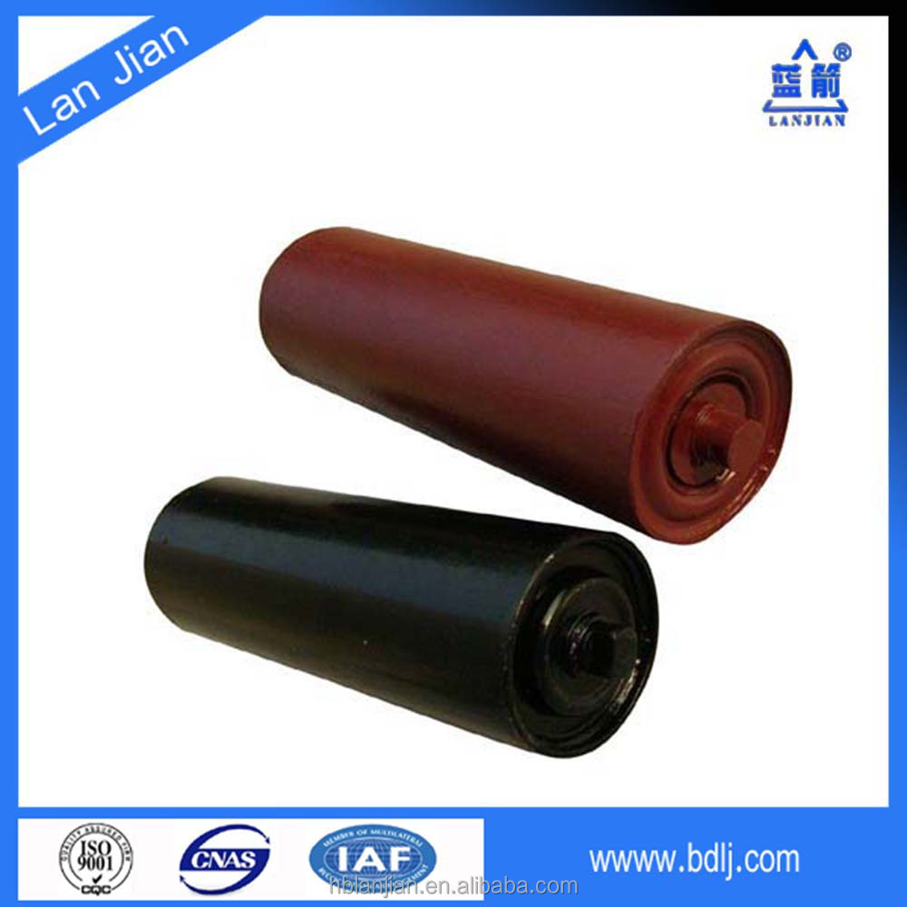China Supplier Impact Carrying Idler Roller Industrial Conveyor Belt Supporting Roller