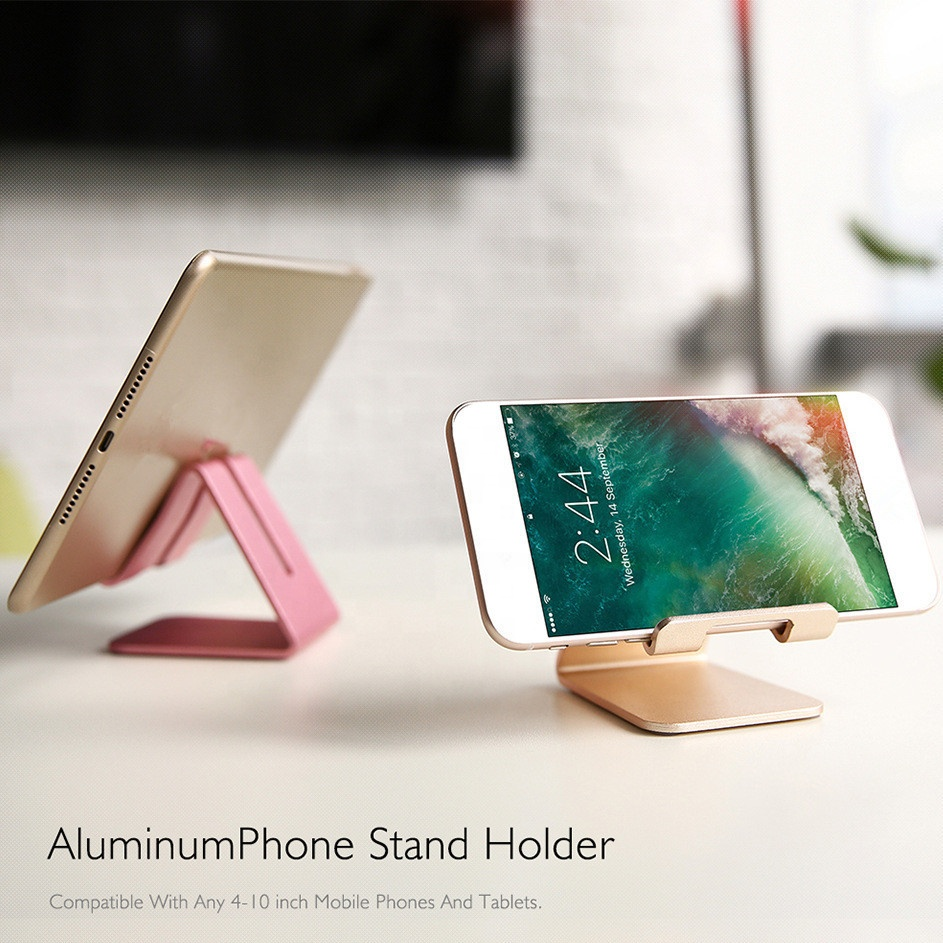Aluminum alloy cell phone display,mobile phone holder Table Stand Holder cell phone display
