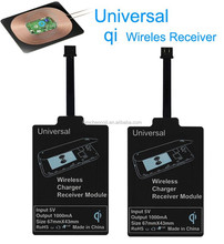 Hot Universal Micro USB Qi Standard Wireless Charger Receiver for Samsung S3 S4 S5 S6/Note2 3 4 xiaomi mobile Coil Charging