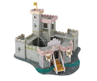 3D Paper puzzel castle toy