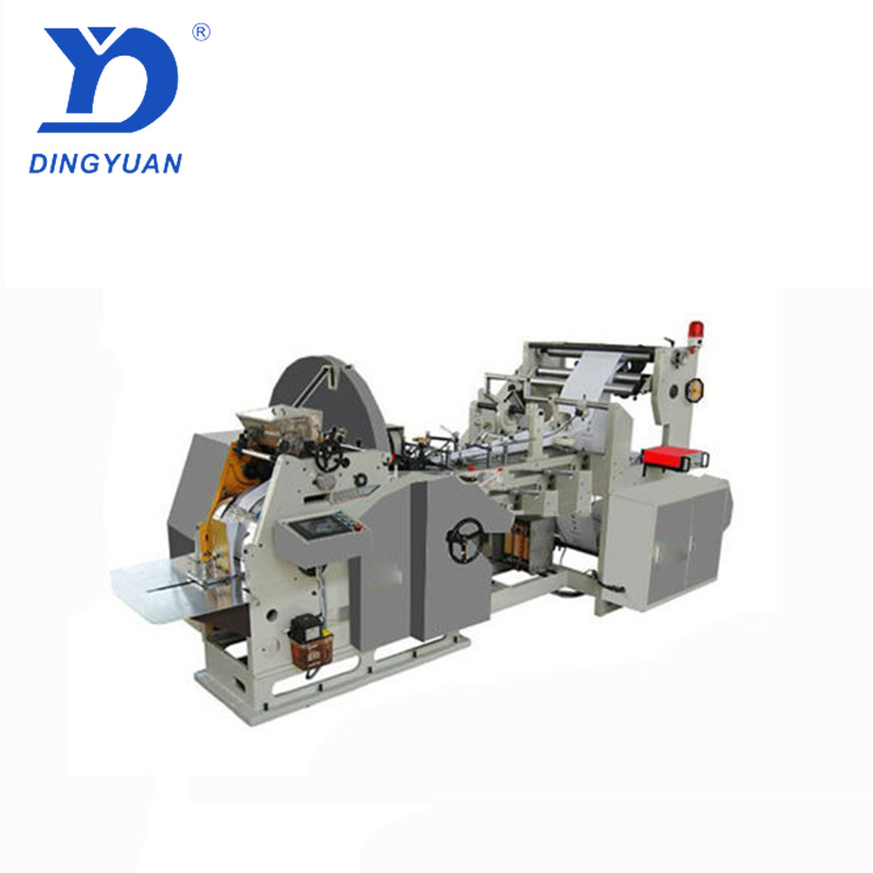 High quality food paper bag making machine price
