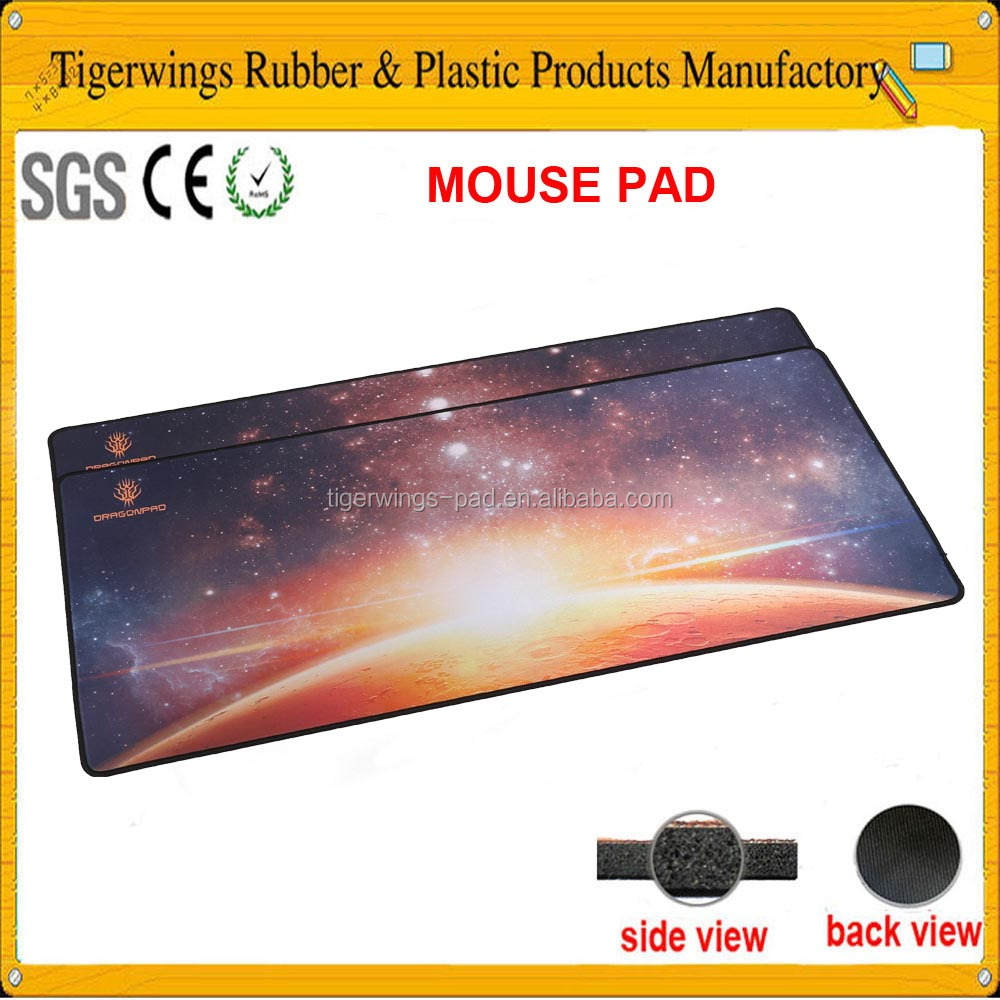 Fun acrylic computer mouse pad with photo insert/Tigerwingspad