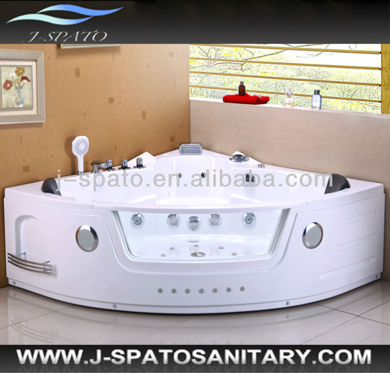European Style Luxurious Fan Shaped Bathtub Portable Massage