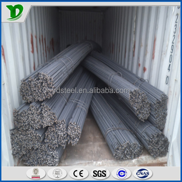 steel rebar ribbed bar/ deformed bar