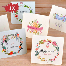 Factory supply China manufacturer handmade greeting card