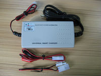 Certified lithium ion battery charger for 3.7V to 14.8V battery with CE,UL,RoHS certification