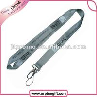Chinese lanyard maker personalized nylon lanyard with egg hook