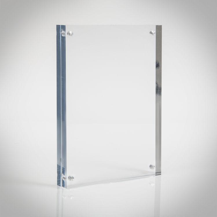 Glass poster frames