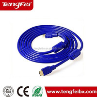 Male-Male HDMI Cable 1.4 Version Nylon net 1080p 3D for HDTV TV BOX