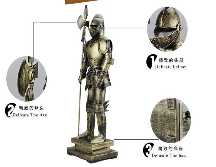 decorative medieval warrior armor