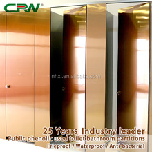 30MM stainless steel HPL honeycomb composite plate toilet /bathroom partition