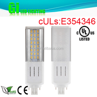 UL cUL CE RoHS Star approved LED PL light bulb G24 with 100-277V Isolated driver