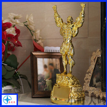 Golden Metal Trophy Cup,Musculation Figure Trophy for award