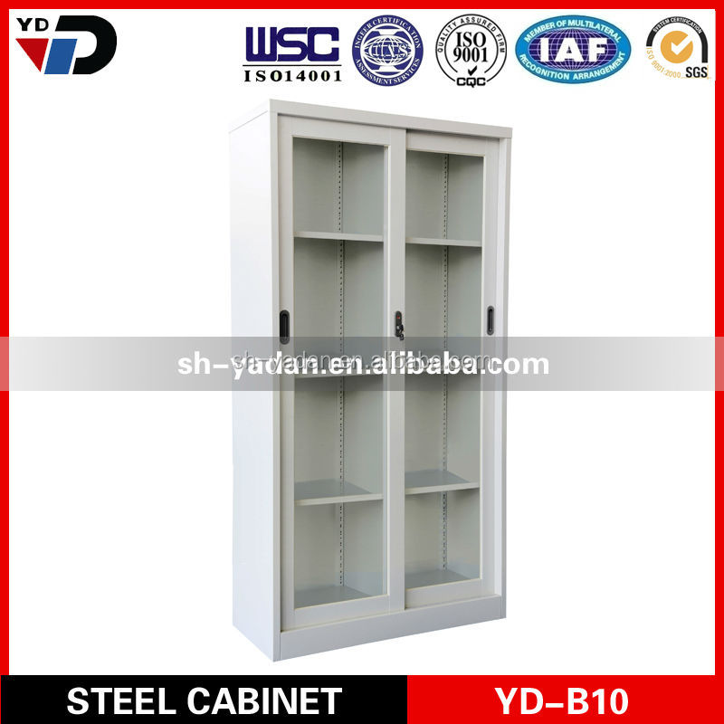2014 office storage furniture lateral mobile steel cabinet/godrej 2 door glass office steel cabinet dubai abu dhabi uae
