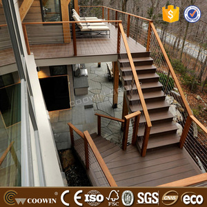 no glue timber raw materials composite outdoor wood deck