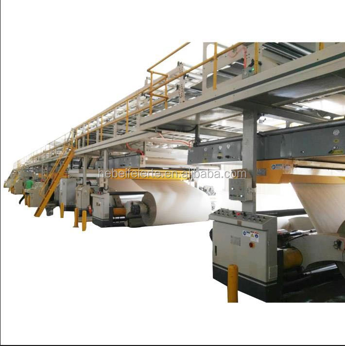 WJ200 - Type II three layers corrugated board production line