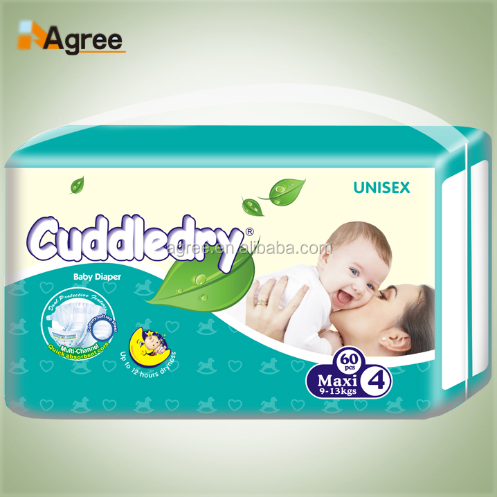 Cheap Factory Wholesale Price Super Dry Surface Disposable Baby Diaper for Ghana