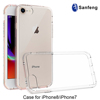 For Iphone 8 case, tpu cover for Iphone 8 clear acrylic transparent cell phone case