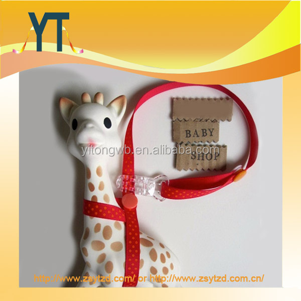 Sophie the Giraffe Teether baby toy teething rubber sophie/baby pacifier clip/toy holder