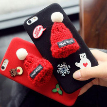 plush microfiber free sample cute phone case for xperia
