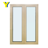 Bullet proof aluminium window frame price french casement window used exterior window for sale