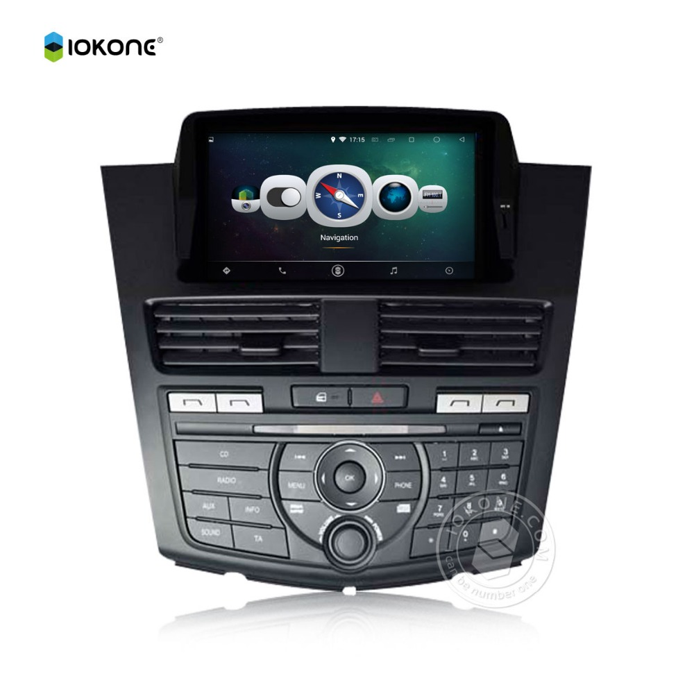 iokone Pure Android 5.1.1 Car Radio Player GPS Navigation for MAZDA BT-50 2014 WIth Bluetooth Wifi