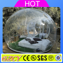 Commercial Transparent Tent Inflatable Greenhouse For Camping